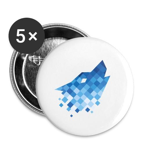 digitalinstinkt® Logo - Buttons klein 25 mm (5er Pack)