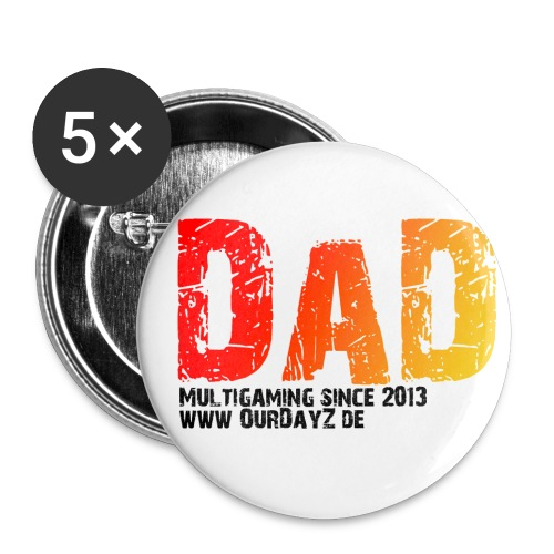 Logo 2 black gif - Buttons klein 25 mm (5er Pack)