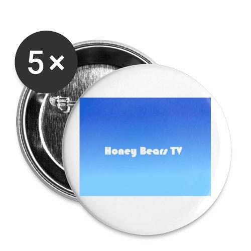 Honey Bears TV Merch - Buttons small 1''/25 mm (5-pack)