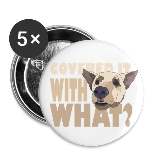 withwhatfinal - Buttons small 1''/25 mm (5-pack)