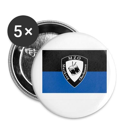 Vereinsfahne - Buttons klein 25 mm (5er Pack)