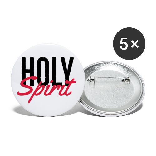 HOLY SPIRIT - Buttons small 1''/25 mm (5-pack)