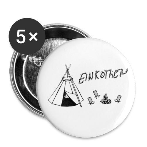 Einkohten button png - Buttons klein 25 mm (5er Pack)