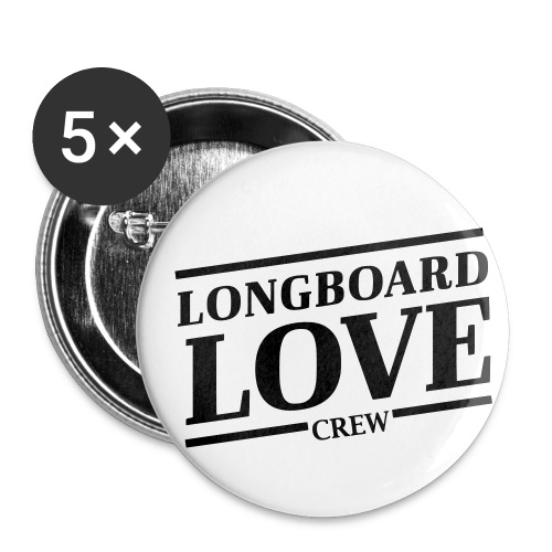 LBL-crew - Buttons klein 25 mm (5er Pack)