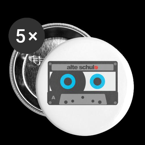 Alte Schule - Buttons klein 25 mm