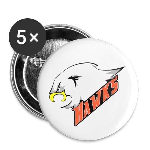 Hawks - Rintamerkit pienet 25 mm (5kpl pakkauksessa)