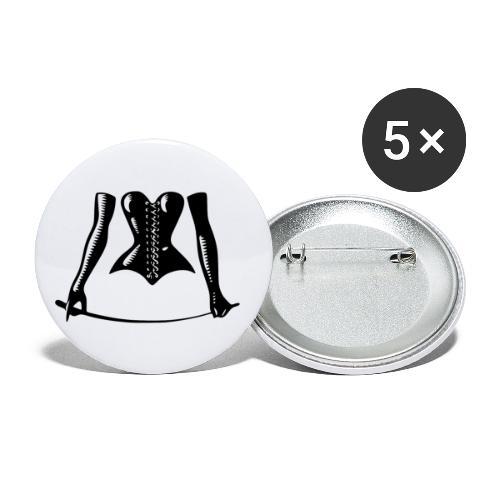 Mistress - Buttons klein 25 mm (5er Pack)