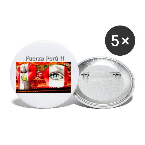 Telar Fuerza Peru I - Buttons small 1''/25 mm (5-pack)