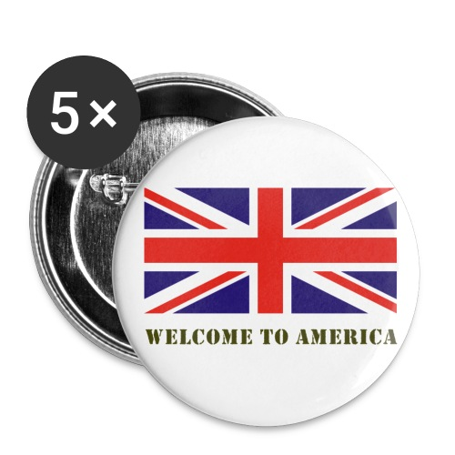 welcometoamerica - Buttons small 1''/25 mm (5-pack)