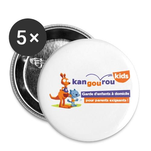 logo détaillé jpg - Lot de 5 petits badges (25 mm)