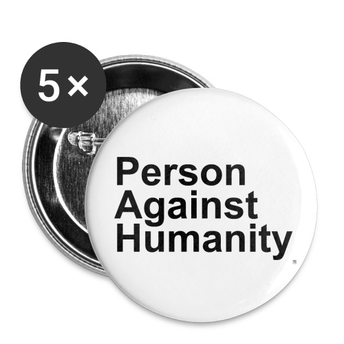 PERSON - Buttons small 1''/25 mm (5-pack)