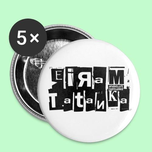 EirAmTatanka - Lot de 5 petits badges (25 mm)