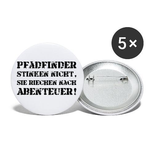 Pfadfinder stinken nicht… - Farbe frei wählbar - Buttons klein 25 mm (5er Pack)