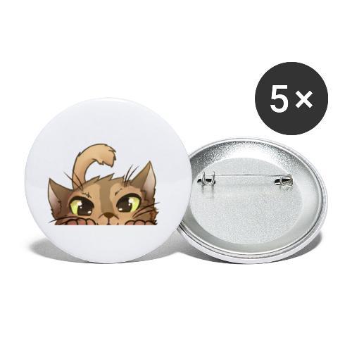 Lurk - Buttons klein 25 mm (5er Pack)