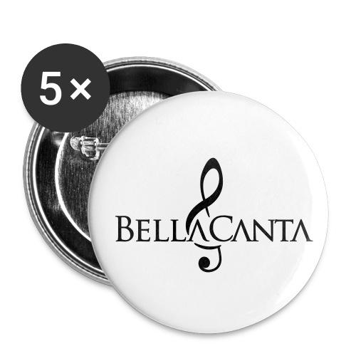 bellacanta logo - Rintamerkit pienet 25 mm (5kpl pakkauksessa)