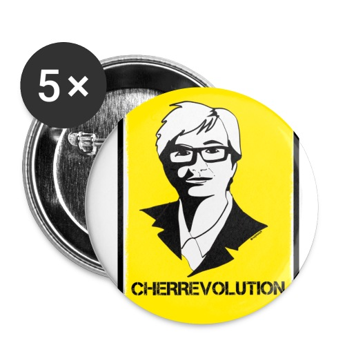 cherrevolution - Buttons small 1''/25 mm (5-pack)