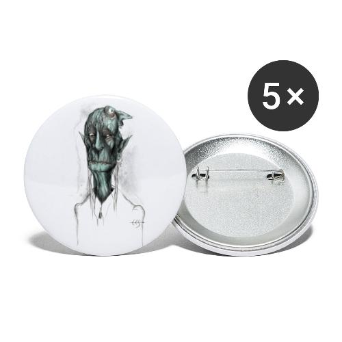 T-shirt del Maniscalco Bifronte - Confezione da 5 spille piccole (25 mm)