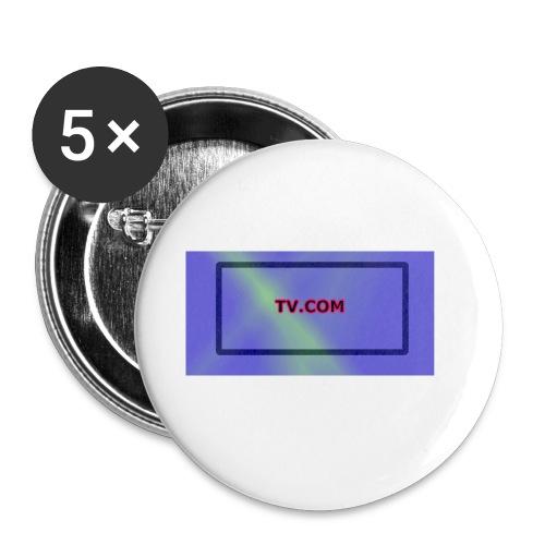 TV.COM - Rintamerkit pienet 25 mm (5kpl pakkauksessa)