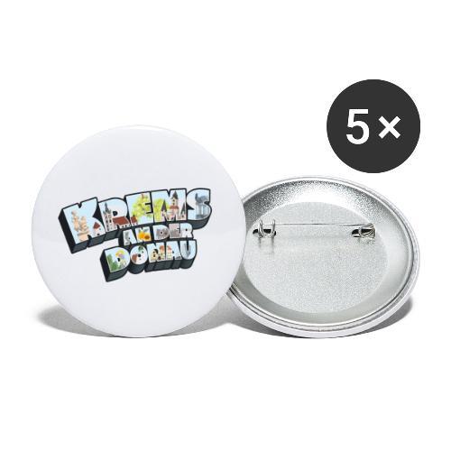 Krems an der Donau - Buttons klein 25 mm (5er Pack)