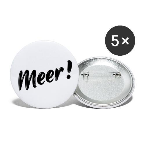 Meer - Buttons klein 25 mm (5er Pack)