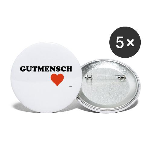gutmensch - Buttons klein 25 mm (5er Pack)
