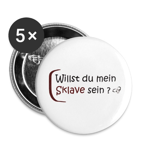 domsub-clothing.com - Buttons small 1''/25 mm (5-pack)