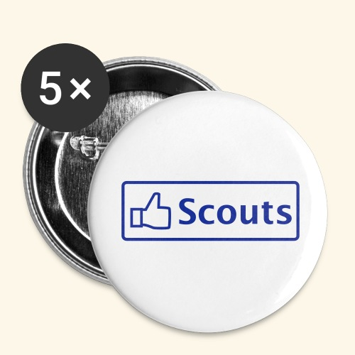 Like - Buttons klein 25 mm (5er Pack)