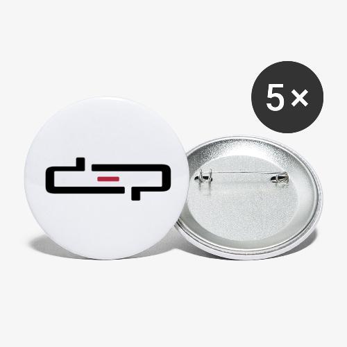 deplogo1neg red - Liten pin 25 mm (5-er pakke)
