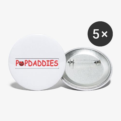 popdaddies - Buttons klein 25 mm (5-pack)