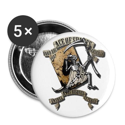2 fw png - Lot de 5 petits badges (25 mm)