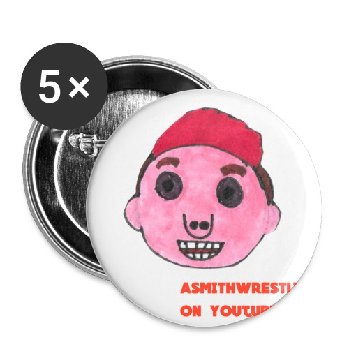 my cartoon head png - Buttons small 1''/25 mm (5-pack)
