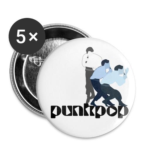 New Wave SM PunkPop - Confezione da 5 spille piccole (25 mm)