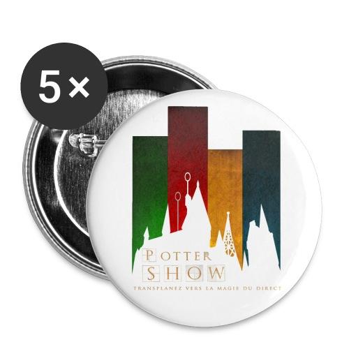 CalquePngLogoNEWpts png - Lot de 5 petits badges (25 mm)
