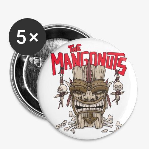 Tiki King - Buttons klein 25 mm (5er Pack)