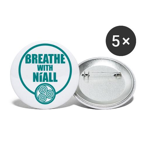 Breath with Niall Tshirt - Buttons small 1''/25 mm (5-pack)