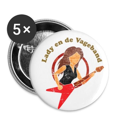 button - Buttons klein 25 mm (5-pack)