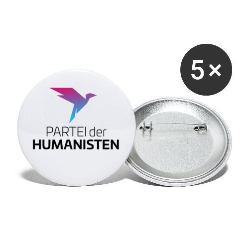 Statement Logo - Buttons klein 25 mm (5er Pack)