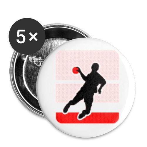 haba logo - Buttons klein 25 mm (5er Pack)