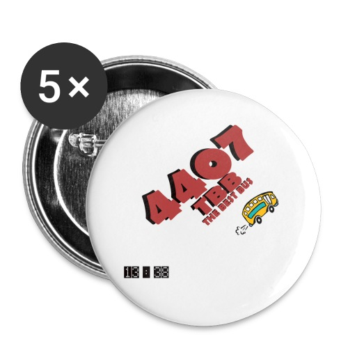 4407 png - Buttons klein 25 mm (5er Pack)