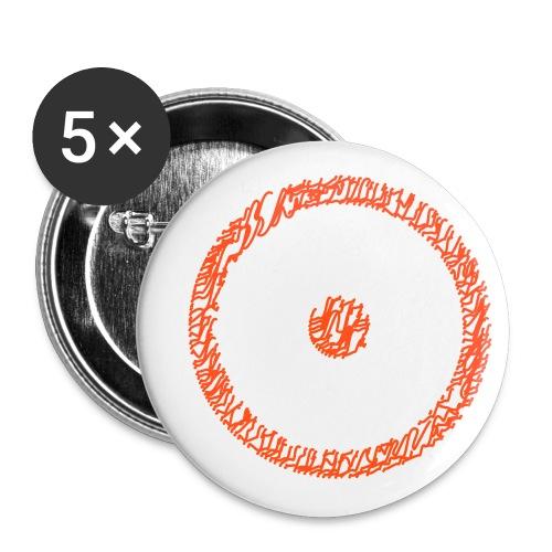 Wegzeichen Ziel erreicht- Stift - Farbe wählbar - Buttons klein 25 mm