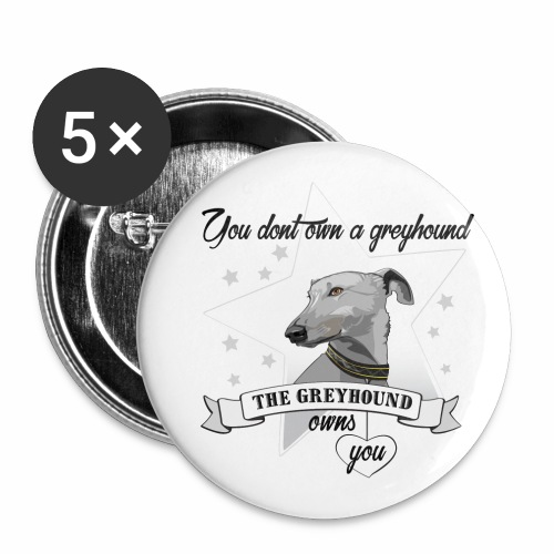 The Greyhound - Små knappar 25 mm