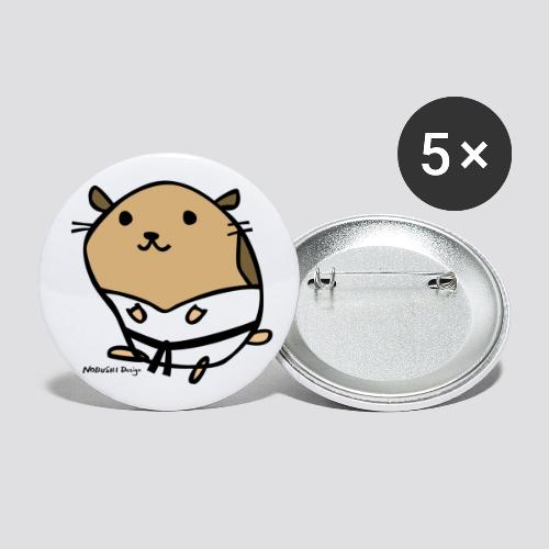 Hamster - Buttons klein 25 mm (5-pack)
