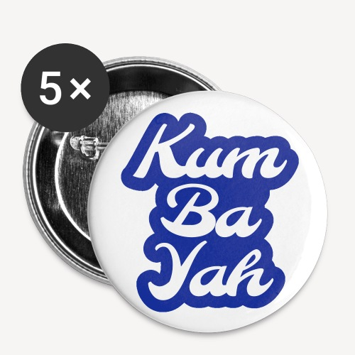 Kum Ba Yah - Buttons small 1''/25 mm (5-pack)