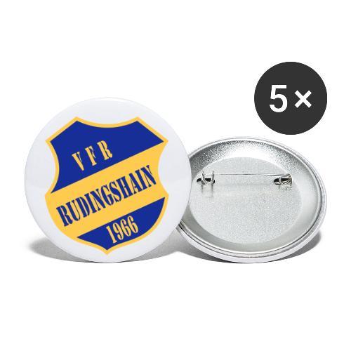VFR-Gelb-Blau - Buttons klein 25 mm (5er Pack)