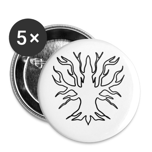 #Primerising - Buttons small 1''/25 mm (5-pack)