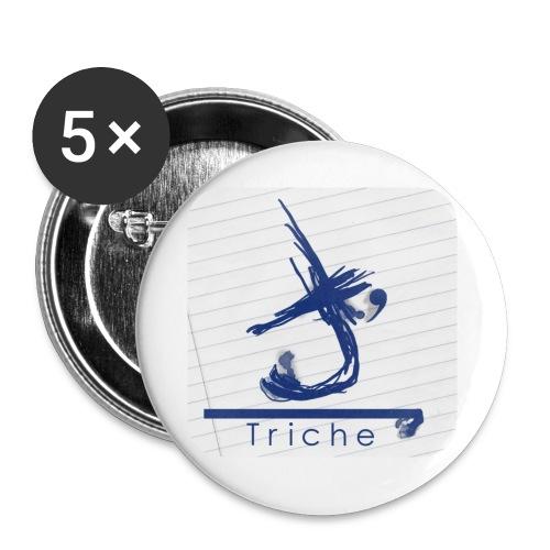 ico - Lot de 5 petits badges (25 mm)