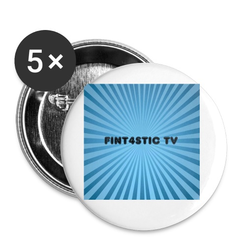 FINT4STIC Sunburst - Buttons small 1''/25 mm (5-pack)