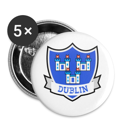 Dublin - Eire Apparel - Buttons small 1''/25 mm (5-pack)