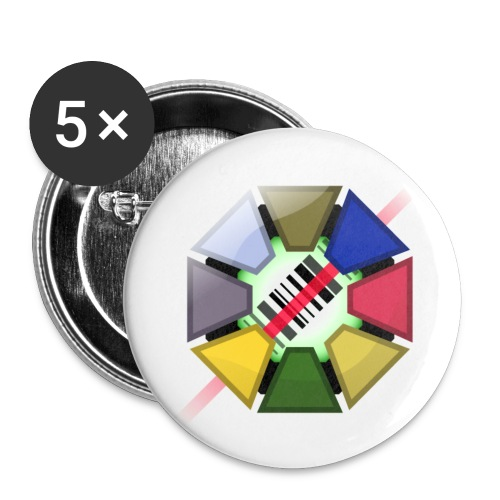 Codemon Logo - Buttons small 1''/25 mm (5-pack)