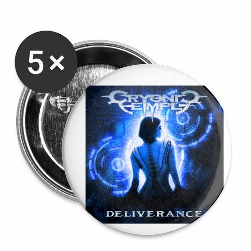 Deliverance - Små knappar 25 mm (5-pack)